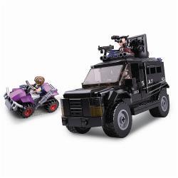 Sluban M38-B0653 Bouwstenen Police Serie Swat Truck