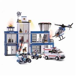 Sluban M38-B0660 Bouwstenen Police Serie Police Headquarters