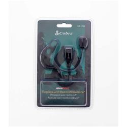 Cobra GA-EP02 Oortelefoontje Headset Met Microfoonboom 2.5 mm Intern Zwart