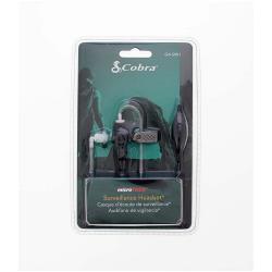 Cobra GA-SV01 Bewaking Headset 2.5 mm Zwart