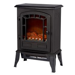 Classic Fire 22417 Electric Fireplace Heater Torino Vrijstaand 2000 W Zwart