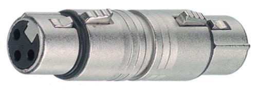 NTR-NA3FF XLR socket/XLR socket