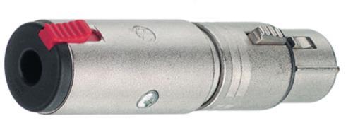 NTR-NA3FJ XLR socket/jack socket stereo 6.3 mm