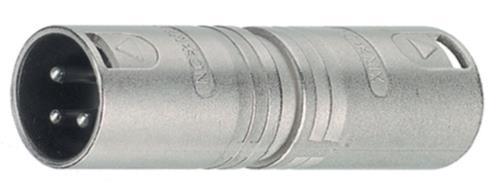 NTR-NA3MM XLR plug/XLR plug