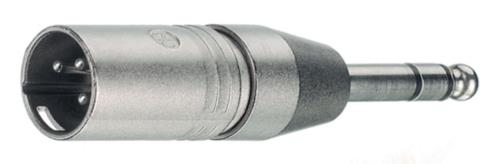 NTR-NA3MP XLR plug/jack plug stereo 6.3 mm