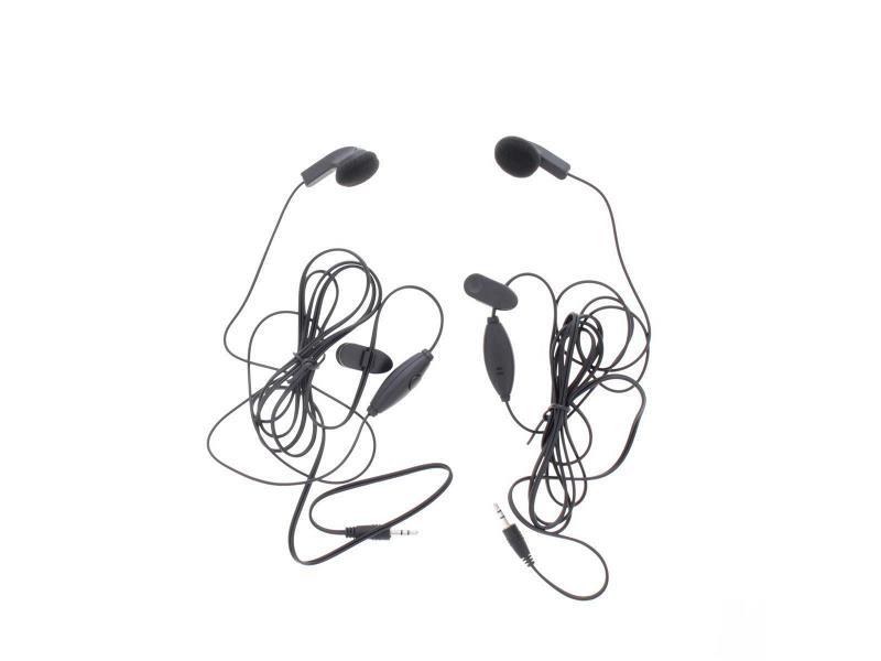 Cobra GA -EBM2 Headset In-Ear 2.5 mm Ingebouwde Microfoon 142 cm Zwart