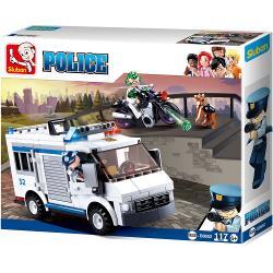Sluban M38-B0652 Bouwstenen Police Serie Gevangenenvervoer