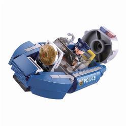 Sluban M38-B0638A Bouwstenen Police Serie Hoovercraft