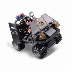 Sluban M38-B0638C Bouwstenen Police Serie ME Buggy