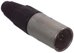 Neutrik NC7MX XLR 7p mannelijk connector