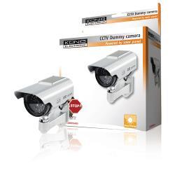König SEC-DUMMYCAM35 CCTV dummy solar buitencamera