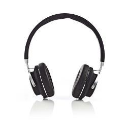 Nedis HPBT3220BK Draadloze hoofdtelefoon | Bluetooth® | On-ear | Travelcase | Zwart