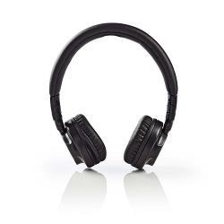 Nedis HPWD2100BK Hoofdtelefoon met snoer | On-ear | Opvouwbaar | 1,2 m loskoppelbare kabel | Zwart