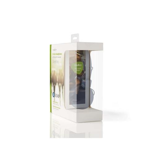 Nedis HPBT1100WT Draadloze hoofdtelefoon | Bluetooth® | On-ear | Opvouwbaar | Wit