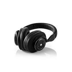 Nedis HPBT5260BK Draadloze hoofdtelefoon | Bluetooth® | Over-ear | Actieve ruisonderdrukking (ANC) | Zwart
