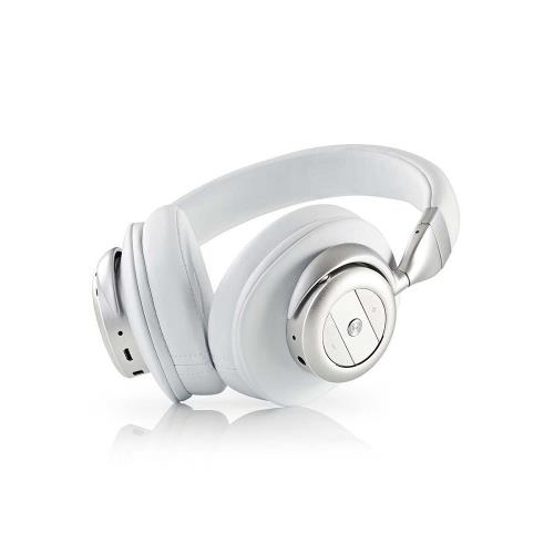 Nedis HPBT5260WT Draadloze hoofdtelefoon | Bluetooth® | Over-ear | Actieve ruisonderdrukking (ANC) | Wit