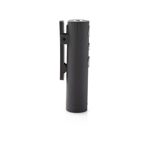 Nedis HPBA100BK Adapter voor hoofdtelefoon | Bluetooth® | Ingebouwde microfoon | Speelduur tot 5 uur | Snoerloze hoof...