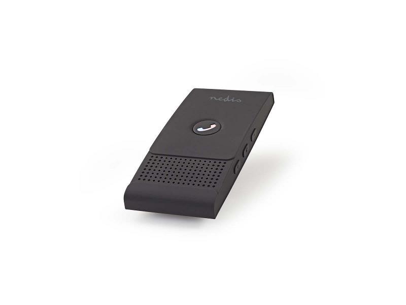 Nedis CKIT100BK Carkit   Bluetooth®   Maximaal 2 smartphones   Max. 12 uur gespreksduur