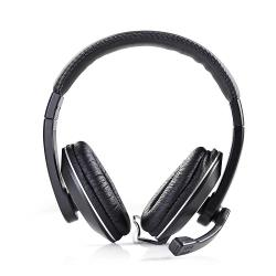 Nedis CHST200BK PC-headset | Over-ear | Microfoon | Dubbele 3,5 mm connector