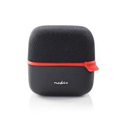 Nedis SPBT1000RD Luidspreker met Bluetooth® | 15 W | True Wireless Stereo (TWS) | Zwart / rood