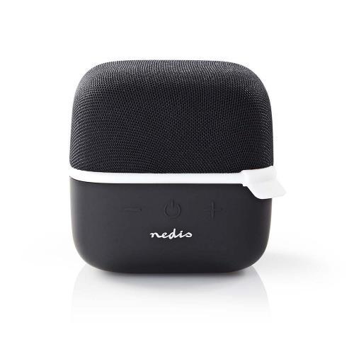 Nedis SPBT1000WT Luidspreker met Bluetooth®   15 W   True Wireless Stereo (TWS)   Zwart / wit