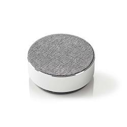 Nedis SPBT1001AL Luidspreker met Bluetooth® | 9 W | Metaalbewerkt ontwerp | Aluminum-zilver