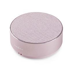 Nedis SPBT1001PK Luidspreker met Bluetooth® | 9 W | Metaalbewerkt ontwerp | Roze-goud