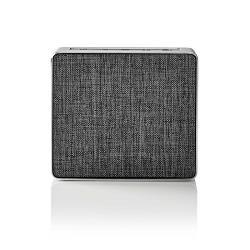 Nedis SPBT1002GY Luidspreker met Bluetooth® | 15 W | Metaalbewerkt ontwerp | Gunmetal