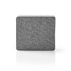 Nedis SPBT1002AL Luidspreker met Bluetooth® | 15 W | Metaalbewerkt ontwerp | Aluminum-zilver