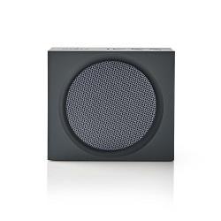 Nedis SPBT2000GY Luidspreker met Bluetooth® | 9 W | Maximaal 6 uur speelduur | Grijs