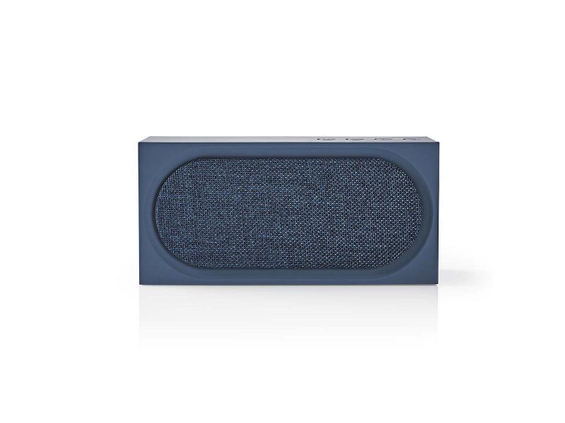 Nedis SPBT2001BU Luidspreker met Bluetooth® | 15 W | Maximaal 4 uur speelduur | Blauw