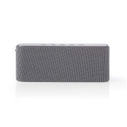 Nedis SPBT2002GY Luidspreker met Bluetooth® | 2x 30 W | True Wireless Stereo (TWS) | Waterbestendig | Grijs