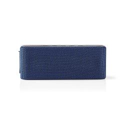 Nedis SPBT2002BU Luidspreker met Bluetooth® | 2x 30 W | True Wireless Stereo (TWS) | Waterbestendig | Blauw