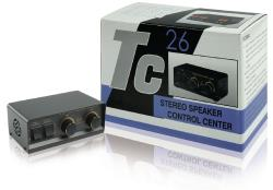 Valueline SPSWITCH-1 2-weg stereo luidsprekerschakelaar