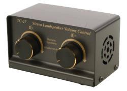Valueline SPSWITCH-1/2 Stereo luidspreker volumeregelaar