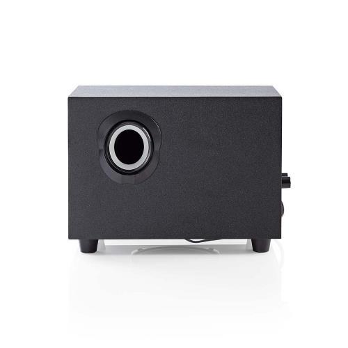 Nedis CSPR10021BK PC speaker | 2.1 | 33 W | 3.5mm Jack
