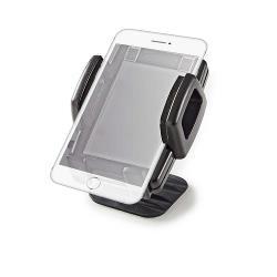Nedis SCMT600BK Smartphone-houder voor auto | 3-in-1 | Ventilatierooster / zuignap / kleefvlak