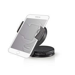 Nedis SCMT400BK Smartphone-houder voor auto | Zuignap | Over 360° draaibaar | Over 90° kantelbaar