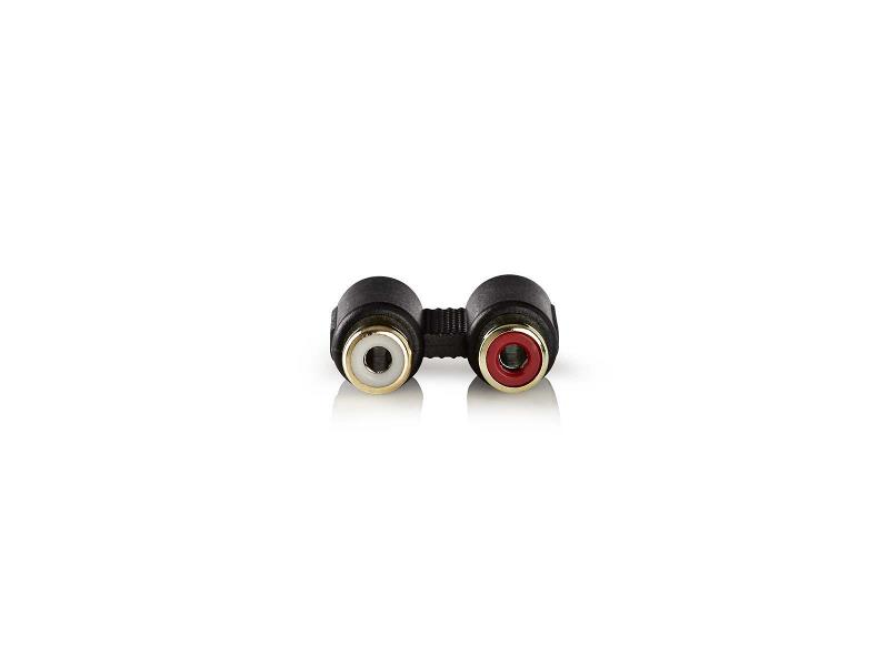 Nedis CABW24952AT Stereo Audioadapter | 2x RCA female - 2x RCA female