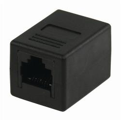 Nedis CCGP89000BK CAT5-Netwerkadapter | RJ45 Female - RJ45 Female | Zwart