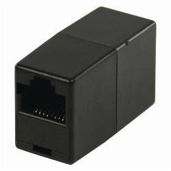 Nedis CCGP89050BK CAT5 crossover Netwerkadapter | RJ45 Female - RJ45 Female | Zwart