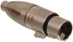 Valueline XLR-3FRCAF 3p XLR vrouwelijk - RCA vrouwelijk adapter