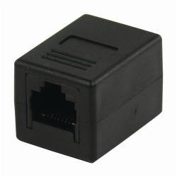 Nedis CCGB89010BK CAT6-Netwerkadapter | RJ45 (8P8C) Female - RJ45 (8P8C) Female | Zwart