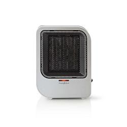 Nedis HTFA12CGY Keramische ventilatorkachel | 750 & 1500 W | Grijs