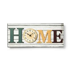 Nedis CLWA001WDH40 Houtstijl wandklok in lijst | Model 'HOME'