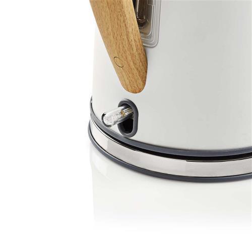 Nedis KAWK510EWT Elektrische waterkoker | 1,7 l | Soft-touch | Wit