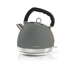 Nedis KAWK520EGY Elektrische waterkoker | 1,8 l | Soft-touch | Grijs