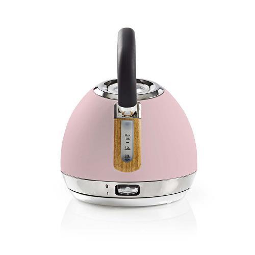 Nedis KAWK520EPK Elektrische waterkoker | 1,8 l | Soft-touch | Roze