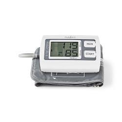 Nedis BLPR110WT Bloeddrukmeter voor Bovenarm | LCD Groot | 2x 60 Geheugenopslag