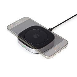 Nedis WCHAQ10W2BK Snellader | Snelle draadloze oplader | 10 W | 2,0 A | Gevoed over USB